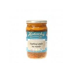 Kuřecí směs na rizoto - 0,33l Hotovky