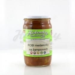 ROBI medailonky na žampionech - 0,33l HOTOVKY