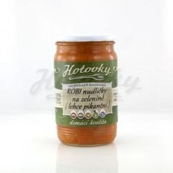 ROBI nudličky na zelenině ( pikantní ) - 0,33l HOTOVKY