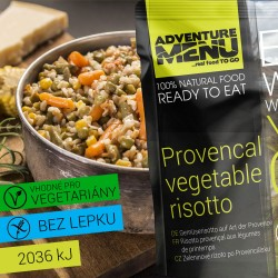 Zeleninové rizoto po Provencálsku 400g ADVENTURE MENU