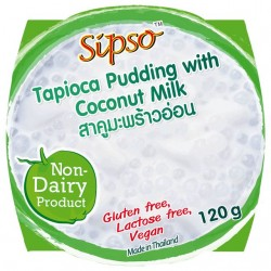 Tapiokový puding s kokosovým mlékem 120g SIPSO