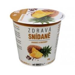 Zdravá snídaně ananas a rozinky 78g bez lepku