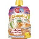 Pyré Jablko - meruňka 100% bez přidaného cukru 120g Ovocňak