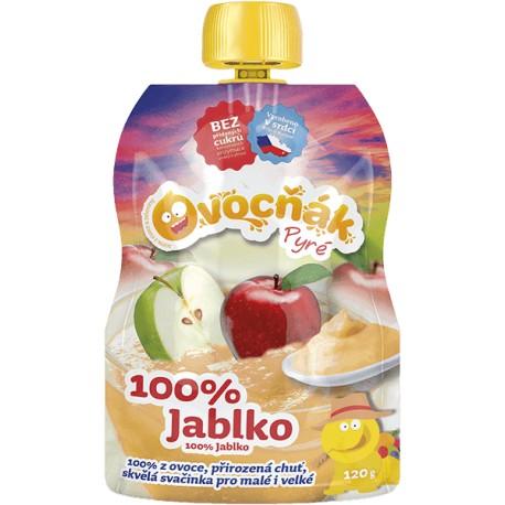 Pyré Jablko 100% bez přidaného cukru 120g Ovocňak