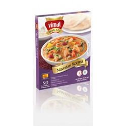Sýr a zelenina v krémové omáčce (Navratan Korma) Ashoka