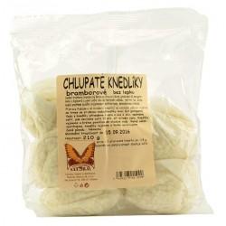 Chlupaté knedlíky bramborové bez lepku - varné sáčky 210g NATURAL.