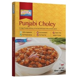 Pikantní cizrnové karí s tamarindem (Punjabi Choley) Ashoka