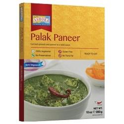 Indický domácí sýr se špenátem (Palak Paneer Tofu) 280g ASHOKA