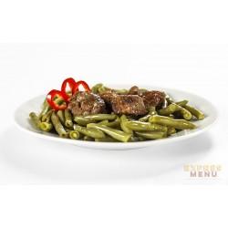 Zelené fazolky s hovězím masem 1 porce Expres Menu SCD