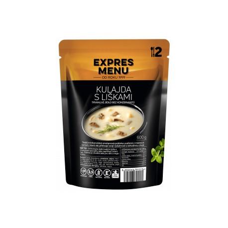 Kulajda s liškami (2 porce) Expres Menu